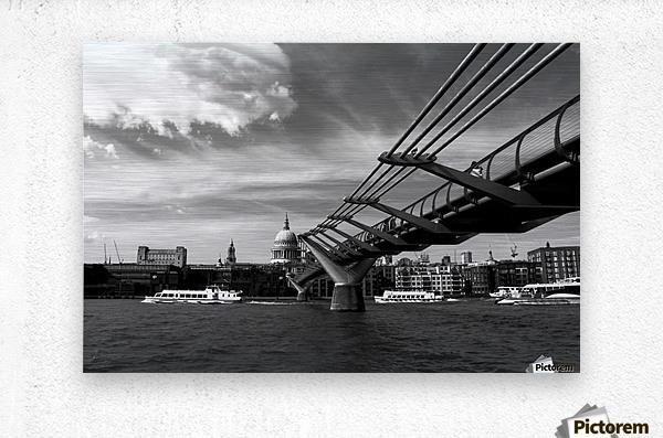 London Skyline -St Pauls Cathedral  Metal print