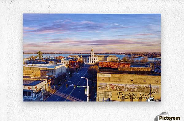 Pine Bluff,  AR | Downtown  Metal print
