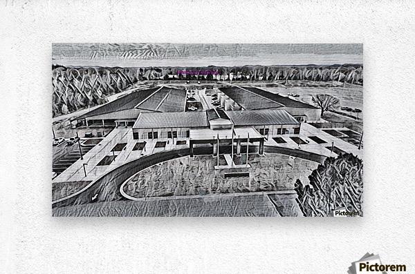 Conway Expo Center 4  Metal print