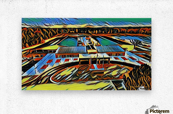 Conway Expo Center 3  Metal print