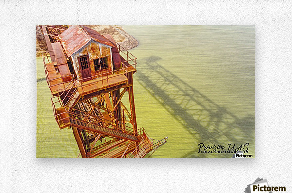 DeValls Bluff, AR | Remnant on the White River  Metal print