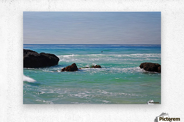 Ocean by Dana Point CA  Metal print