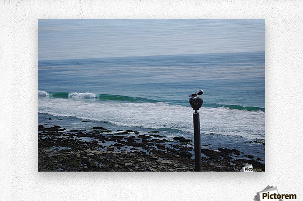 Dana Point Deserted Beach Scene  Metal print