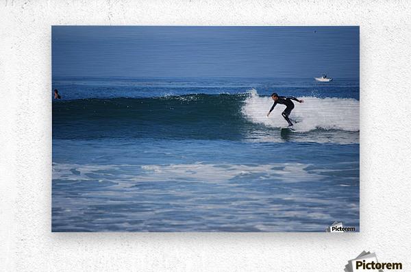 Califonia surfer  Metal print