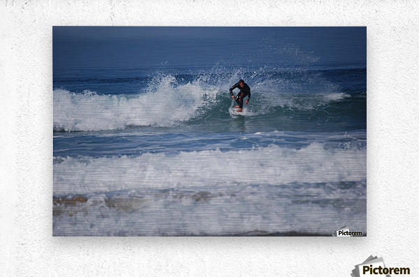Dana Point surfer  Metal print