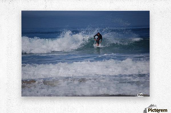 Dana Point surfer  Metal print