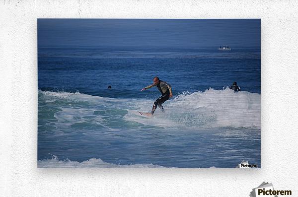 Dana Point surfers   Metal print