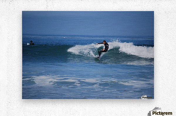 Dana Point surfers   Metal print