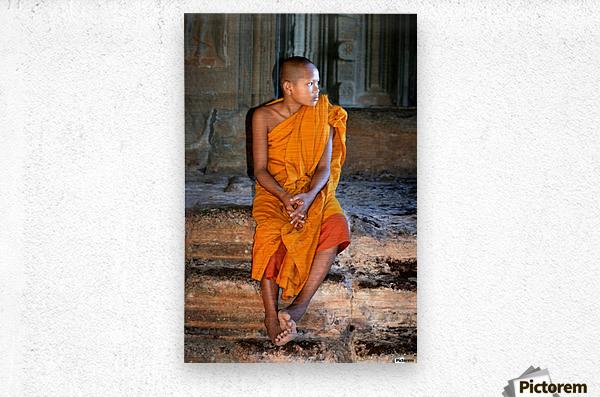 Angkor Wat Cambodia  Metal print