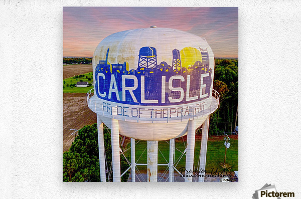 Carlisle, AR   Carlisle Water Twr   Metal print