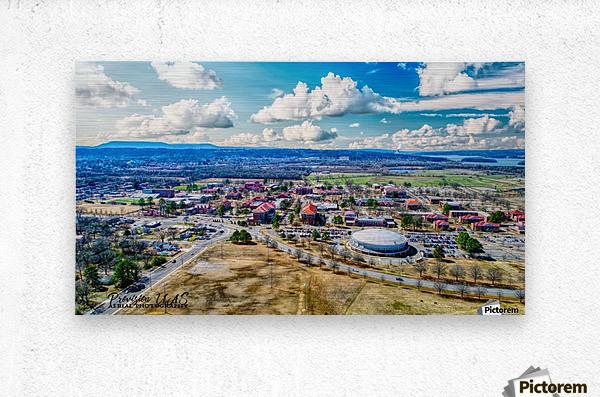 Russellville, AR | ATU Campus  Metal print