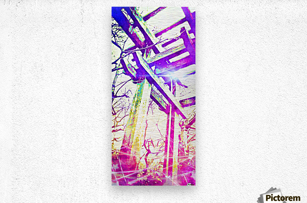 Called by the Light  Metal print
