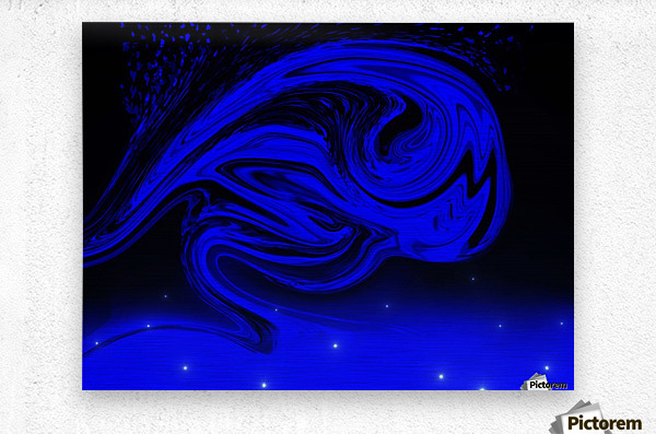 Wave Of Destraction  Metal print