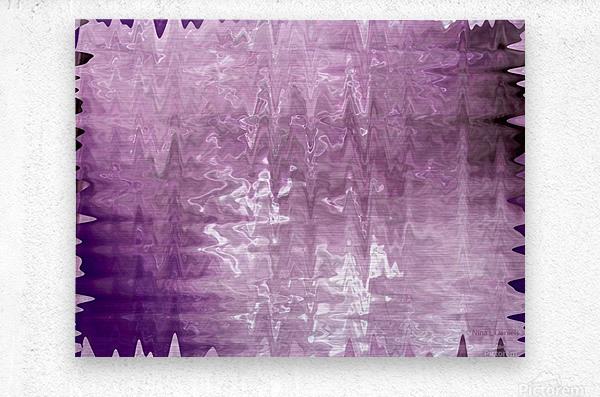 PurplePassion Wave  Metal print
