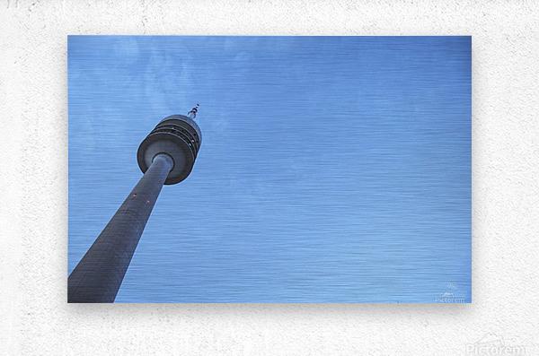 Olympia-Tower  Metal print