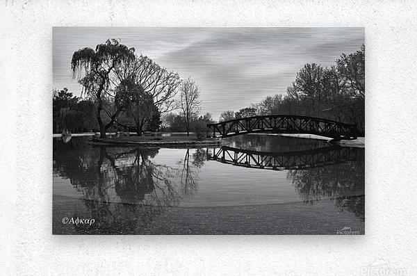 Bridge of dreams  Metal print