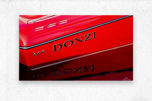 Donzi  Metal print