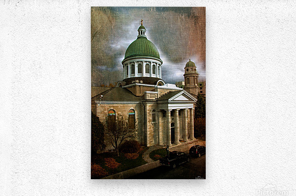St Georges Cathedral  Metal print