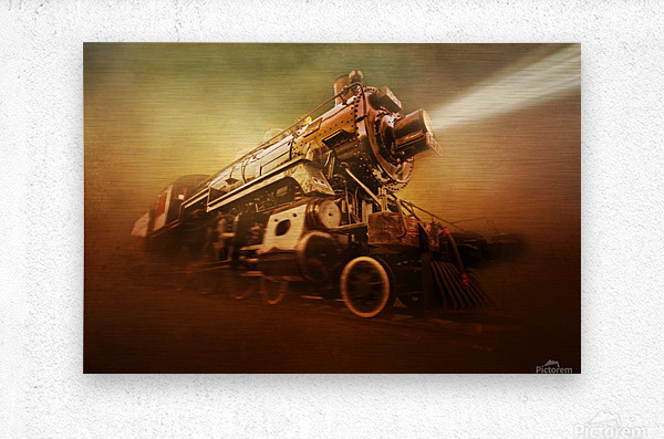 Engine 1095  Metal print