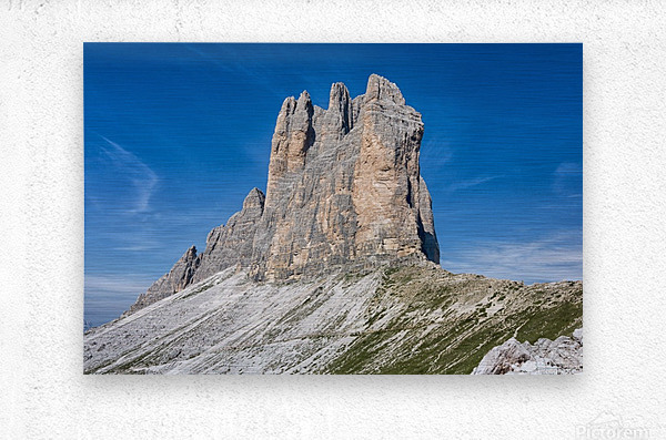 Three peaks of Lavaredo  Metal print