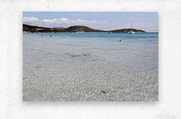 Rondinara beach  Metal print