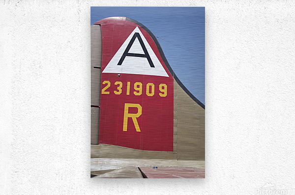 B-17 Tail  Metal print