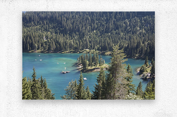 Lake of Cauma  Metal print