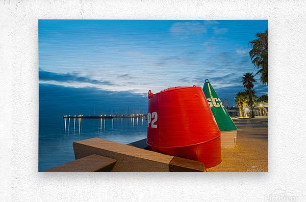 Geelong Waterfront Pre Dawn  Metal print