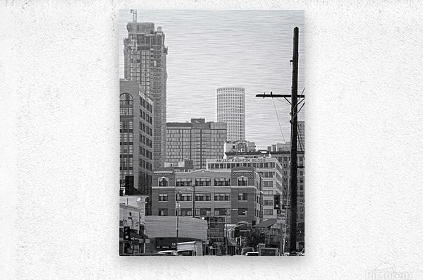 DTLA Near 8th & San Pedro  Metal print