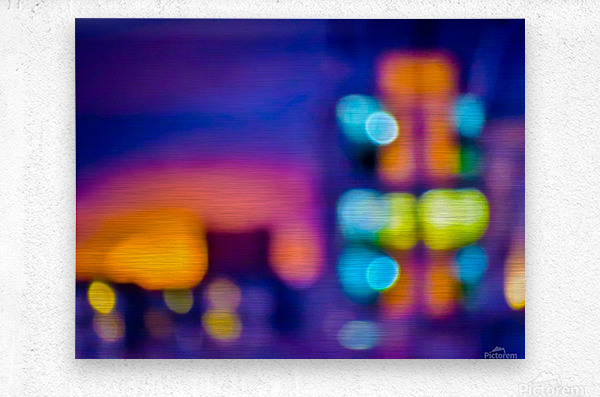 Sunset Blvd  Metal print
