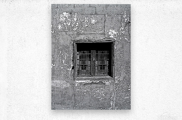 Poster Window   Metal print