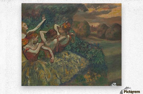 Four Dancers  Metal print