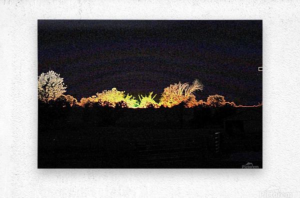 I Dreamed A Sunset  Metal print