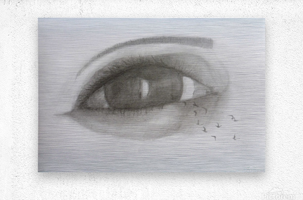 VCumper Birds in the eye 2018  Metal print