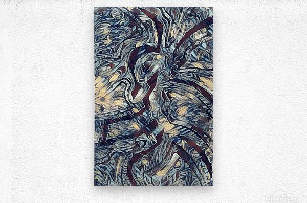 longers   Metal print