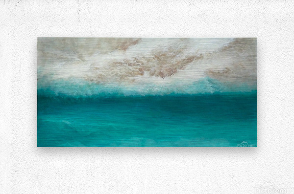 Morning Sea  Metal print