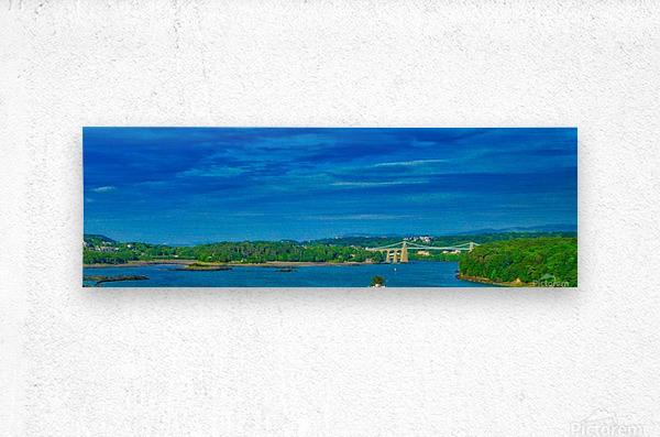 Island crossing  Metal print