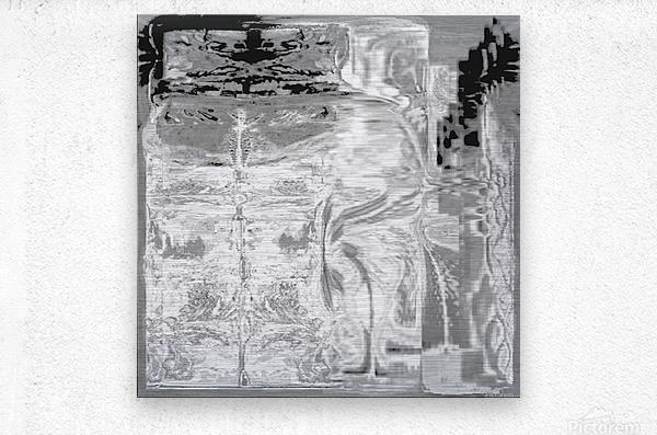 Ancient_Grounds_Gray Skies  Metal print