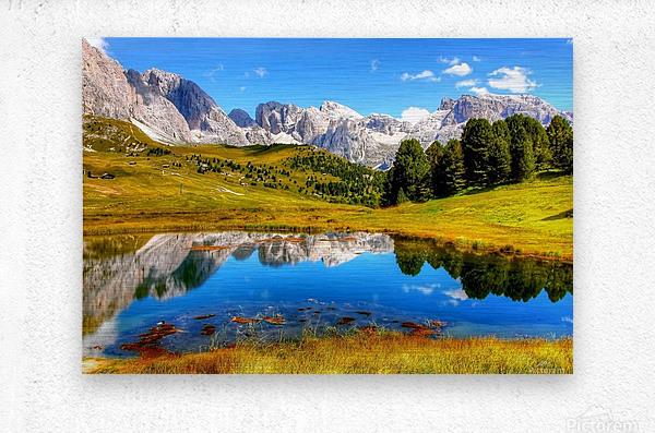 Italy DL_2179641  Metal print