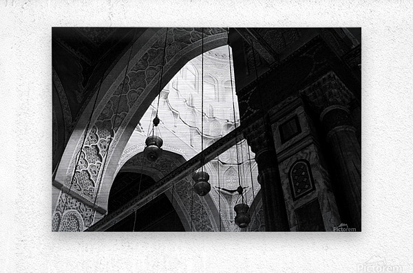 Historical Islamic Architecture  Metal print