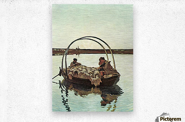 Ave Maria by Giovanni Segantini  Metal print