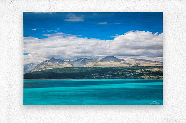 Lake Pukaki  Metal print