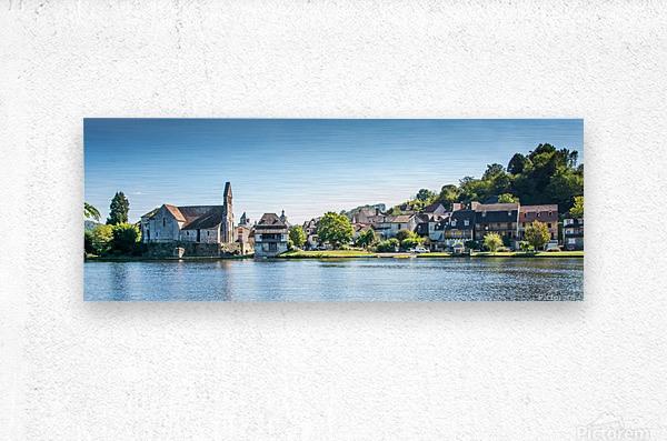 Beaulieu-sur-Dordogne  Metal print