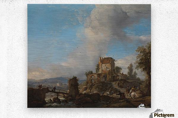 Hertenjacht Rijksmuseum  Metal print