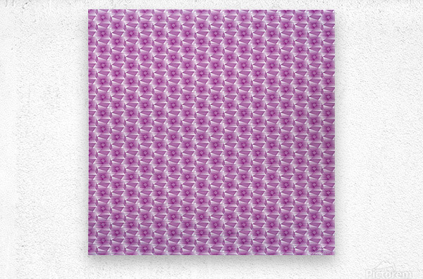 Rose Pattern Artwork  Metal print