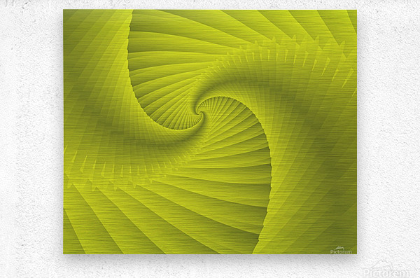 DNA  Metal print