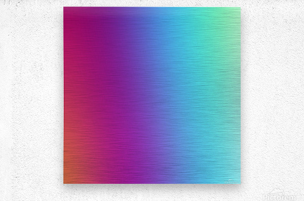 Multicolor Background  Metal print