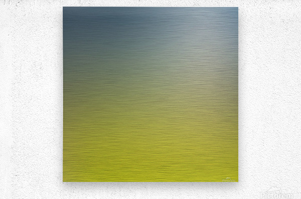 Green Gradient Background  Metal print
