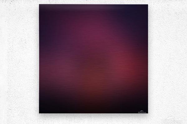Blurred Red Background  Metal print