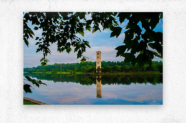 Furman University  Metal print